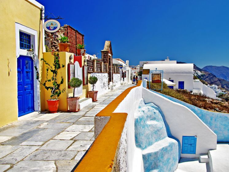 Athens  - Classical Tour and Myconos or Santorini 7 Nights / 8 days